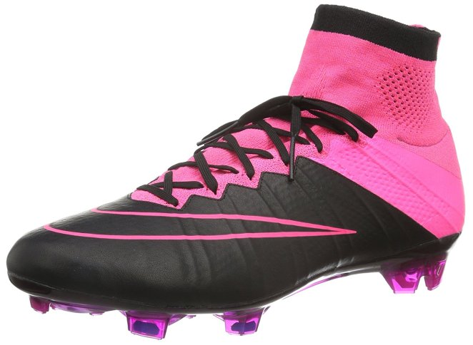 NIKE Mercurial Superfly Leather FG Soccer Cleats