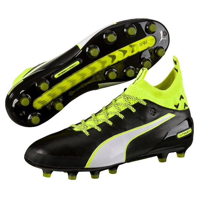 Puma evoTOUCH 1 AG Mens Leather Soccer Cleats