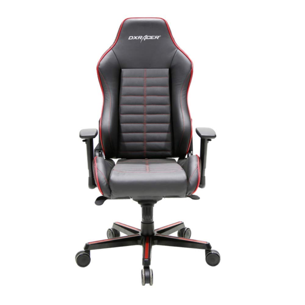 10. DXRacer OH:DJ188:NR Black & Red Drifting Series Gaming Chair Ergonomic High Backrest Office Computer Chair Esports Chair Swivel Tilt and Recline with Headrest and Lumbar Cushion + Warranty