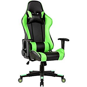 4. High-Back Video Game Chair Formula Laptop Computers Racing Gaming Car Style Seat Office- House Deals